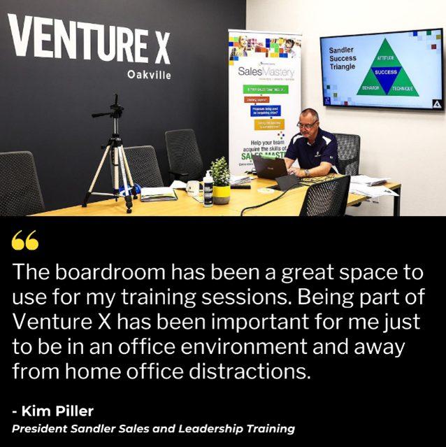 Venture X Oakville Office Space